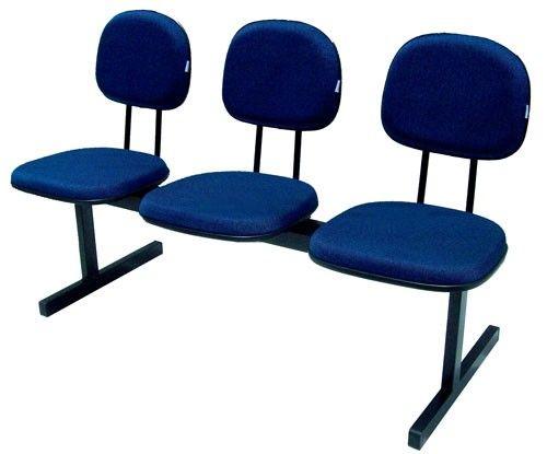 Longarina secretaria- 2,3,4 ou 5 lugares