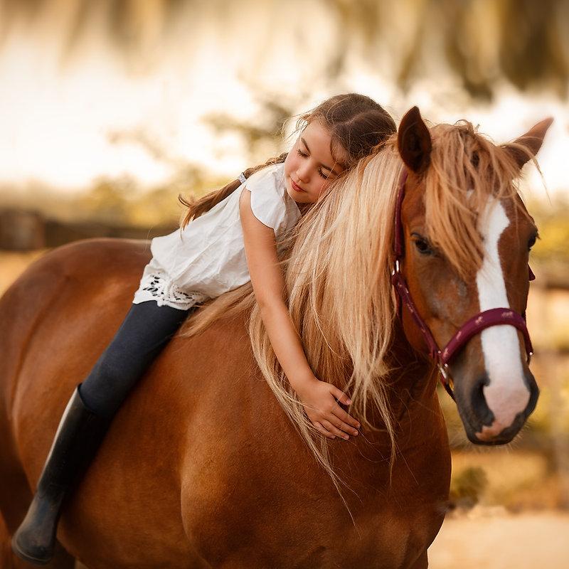 little-girl-child-horse-girl-depth-of-fi