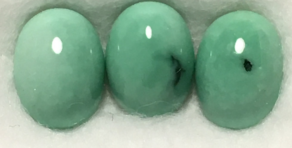 8x6mm - Blue Boy Mine Variscite Calibrated Cabochons