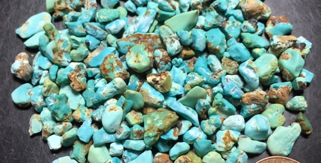 Dyer Blue Mine Natural Turquoise Rough