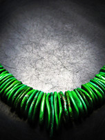 Northern Lights tab necklace