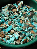 Ajax blue rough in screen