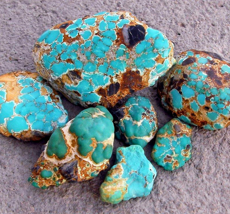 Dyer Blue nuggets