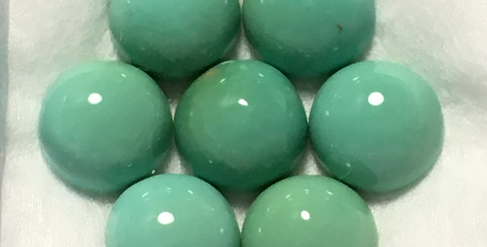 6mm - Aztec Mine Natural Turquoise Calibrated Cabochons