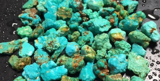 Ajax Mine Turquoise Nuggets