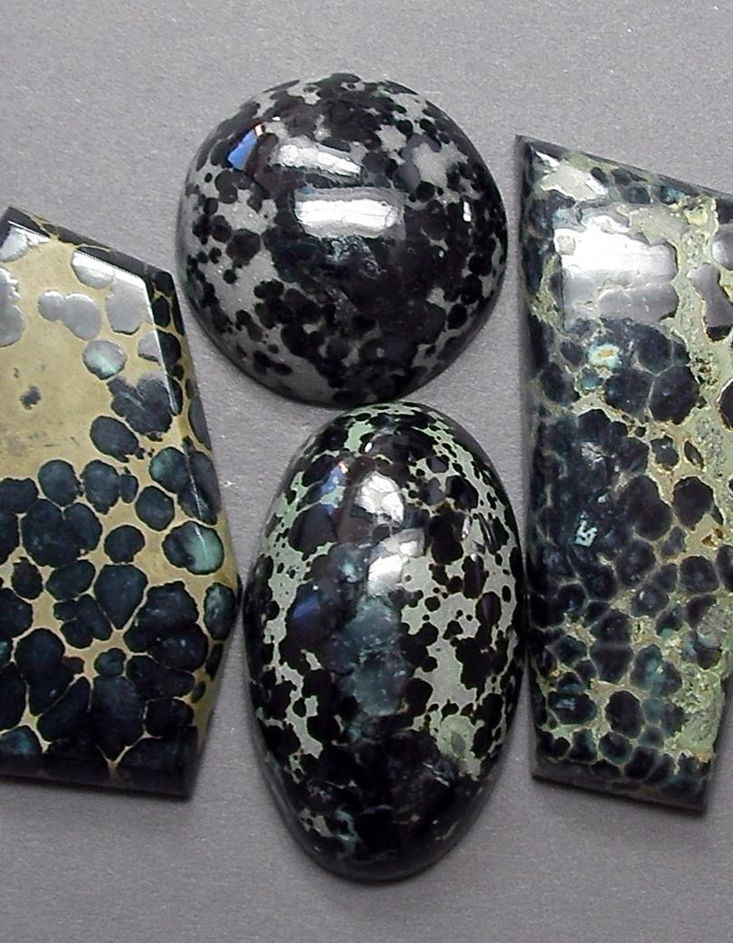 Black Variscite from Blue Boy