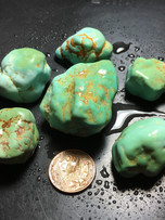 Aztec blue-green nuggets