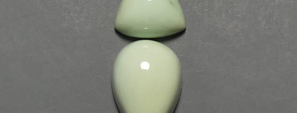 Prince Mine Natural Variscite Calibrated Cabochon Set