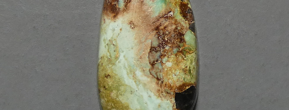Ocean Dreams Mine Natural Turquoise Cabochon