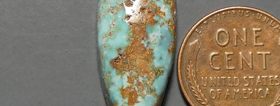 Pickhandle Mine Natural Turquoise Cabochon