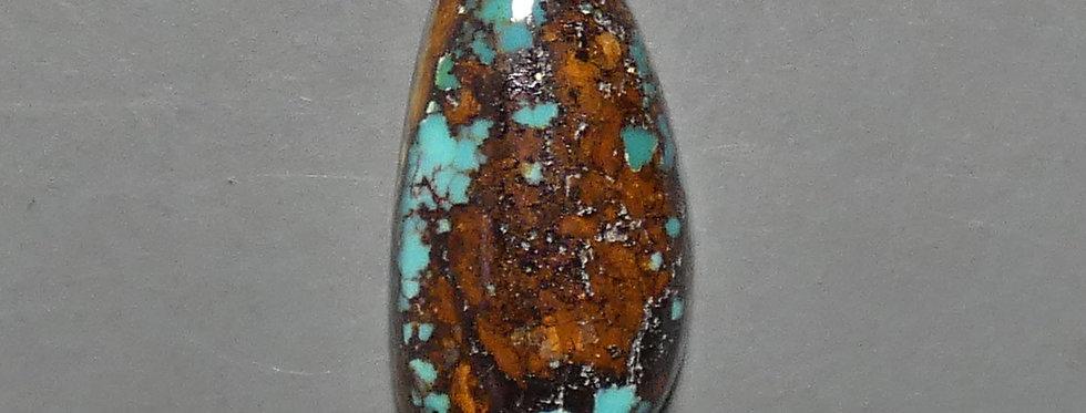 Carmelita Mine Natural Turquoise Cabochon