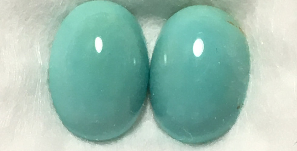 10x7mm - Aztec Mine Natural Turquoise Calibrated Cabochons