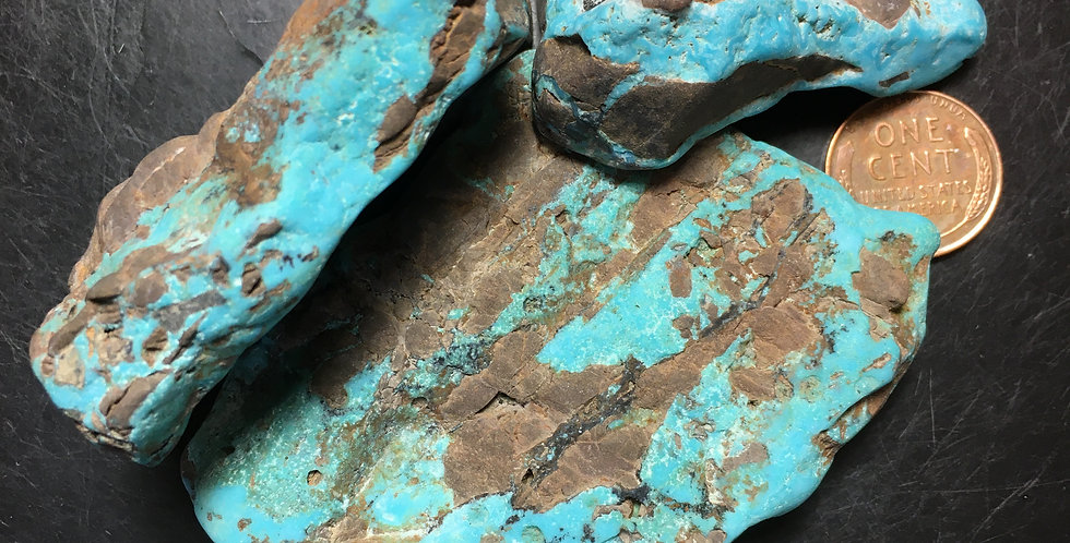 Nevada Blue Turquoise Cutting Rough