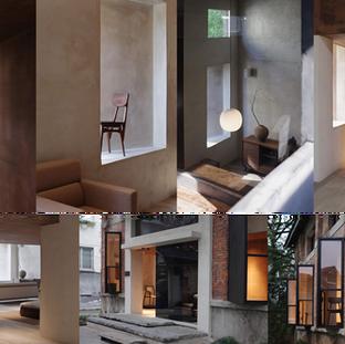 内装 / 外装デザインの仕事 中国 杭州  A work of interior + exterior design Hangzhou, China  2018
