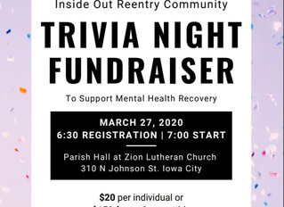 Trivia Night Fundraiser!