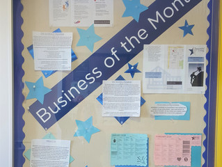 Successful Living Named 'Business of the Month' at Hills Bank