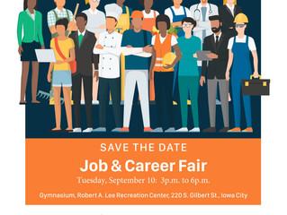 Save the Date: Job & Career Fair