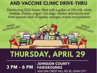 Free Food Box & Vaccine Drive-Thru