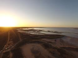 Spring Sunset - Lake Tyrrell