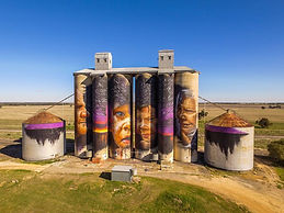 Sheep Hill Silo Art