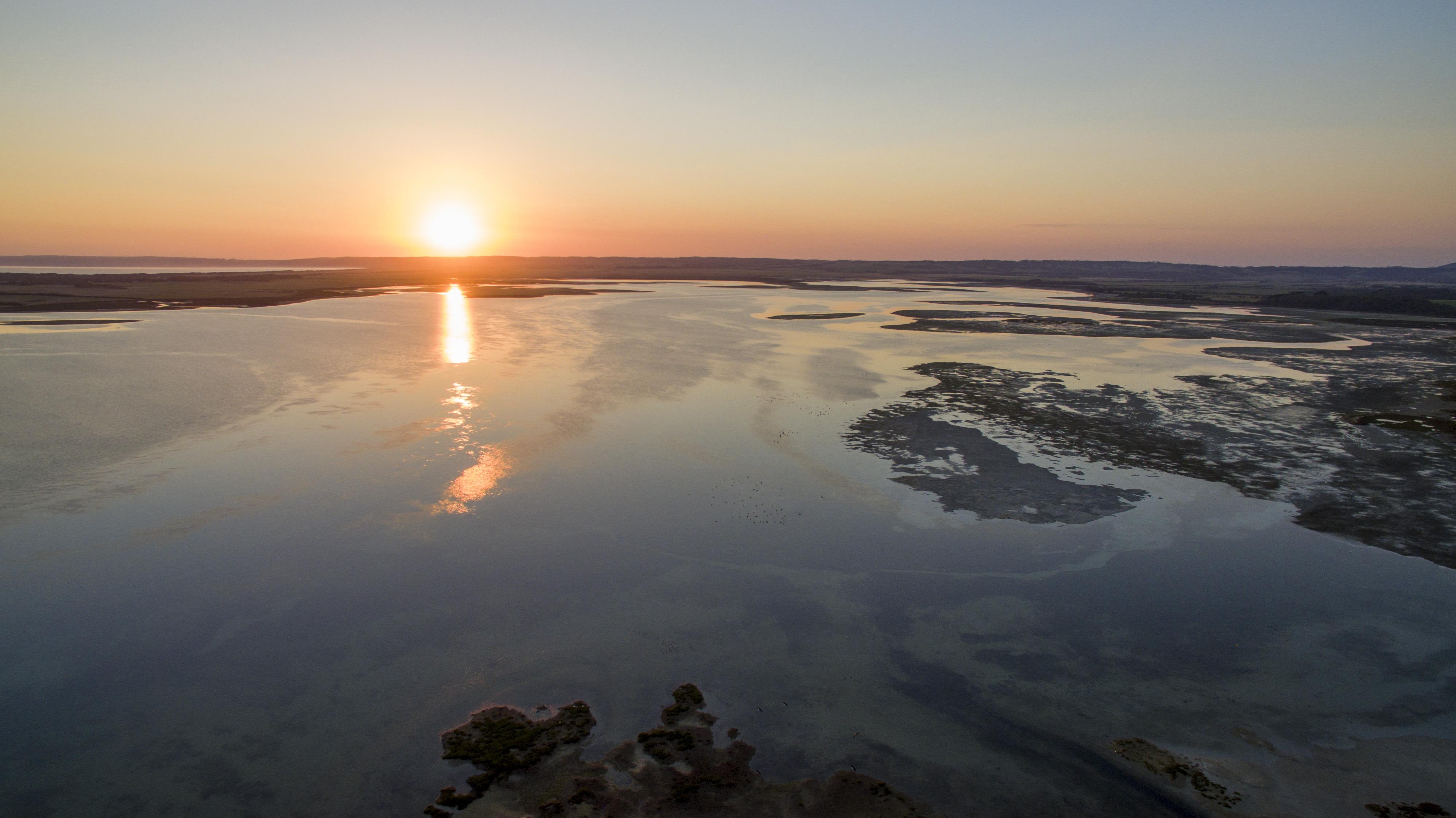 Shallow Inlet Sunset