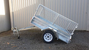 Single Axle Tipper Trailer