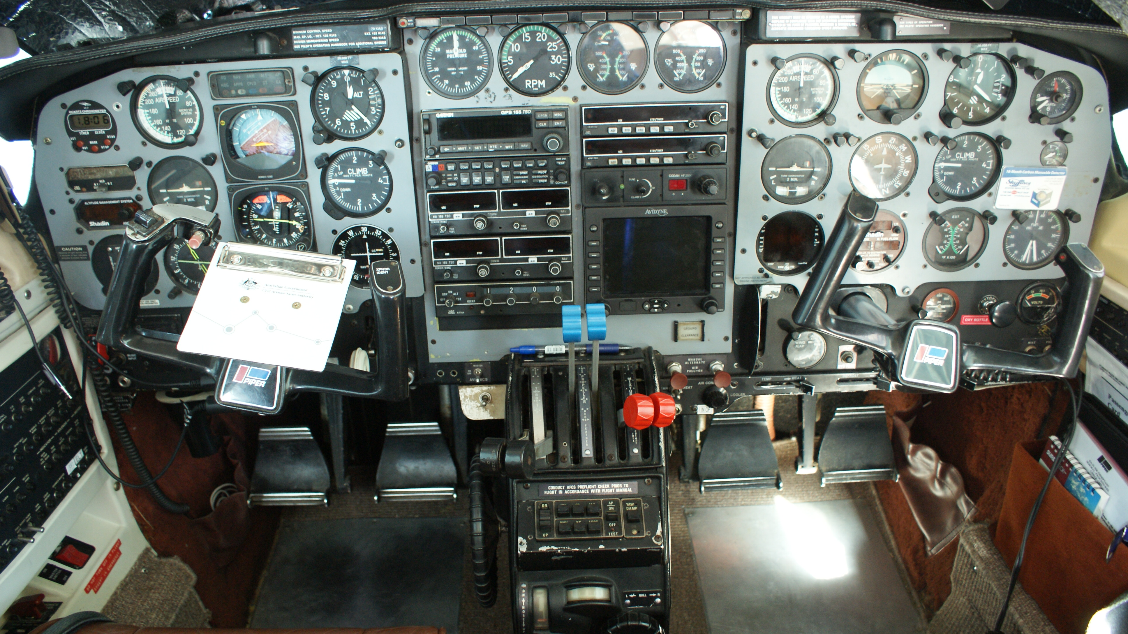 Piper PA31 Instruments
