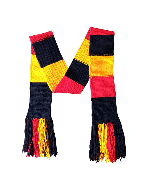UGANDA FLAG COLOURS SCARF DE01