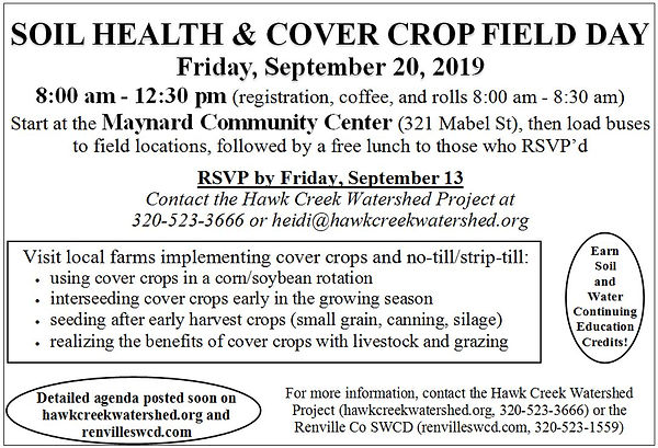 9.20.19 Soil Health & Cover Crop Field D