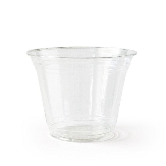 Compostable PLA Cup (50 Pack), 9 oz, Clear