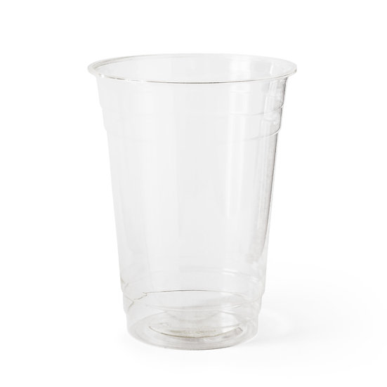 Compostable PLA Cup (50 Pack), 16 oz, Large , Clear