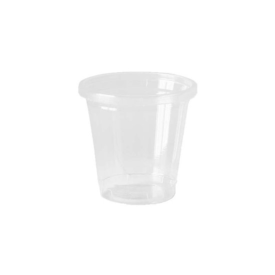 Compostable PLA Cup (100 Pack), 1 oz, Clear 3000/ case