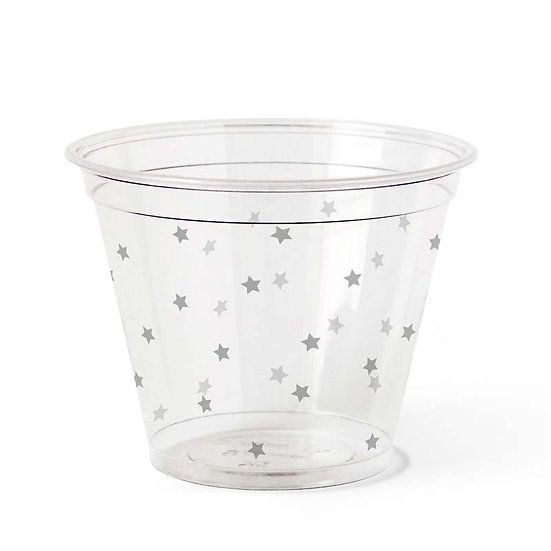 Compostable PLA Cup (50 Pack), 9 oz, Gray Star 1000/ case