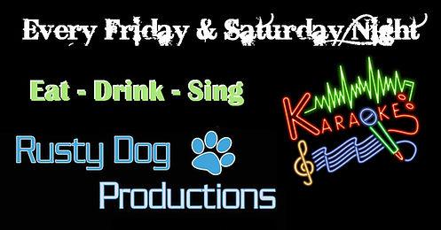 karaoke rusty dog1.JPG