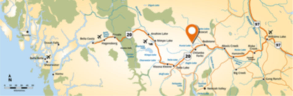 Kokanee Bay Resort Map