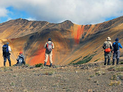 Rainbow Mountain Hikers