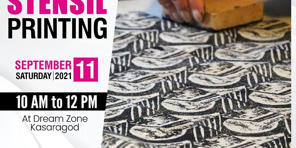 Workshop on Block& Stensil Printing