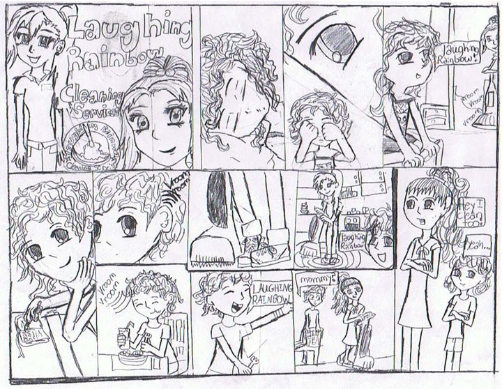 This is our second comic created by my 12 year old