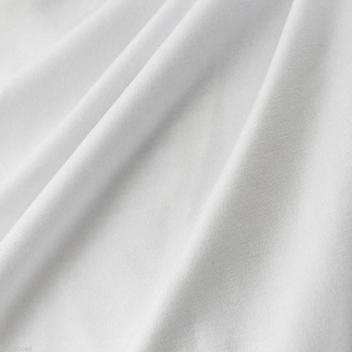 Plain White Cotton Shirt