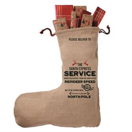 Personalised Jute stocking