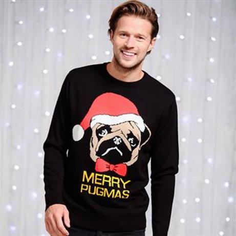 Merry Pugmas Jumper