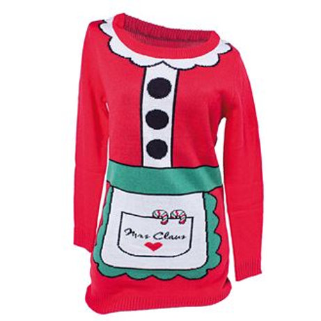 Mrs Clause Knitted dress