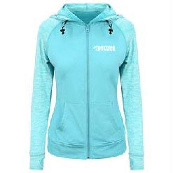 Girlie premium sports contrast hoodie