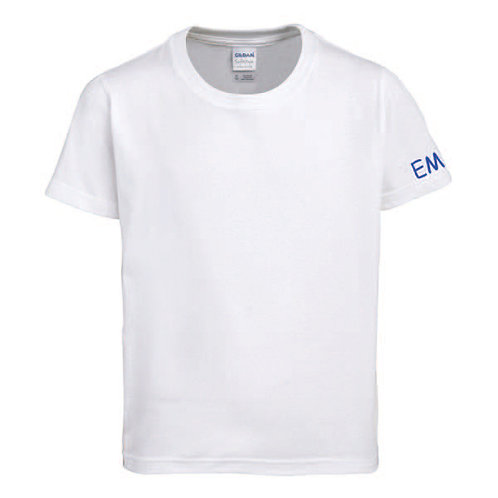 PE T-shirt with initials