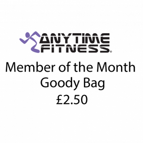 £2.50 Member of the Month Goodie bag
