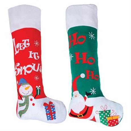 Giant personalised stocking