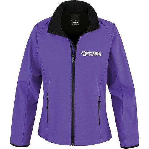 Printed softshell jacket