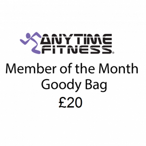 £20 Member of the month Goodie Bag
