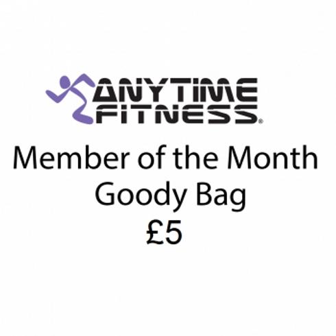 £5 Member of the month Goodie bag