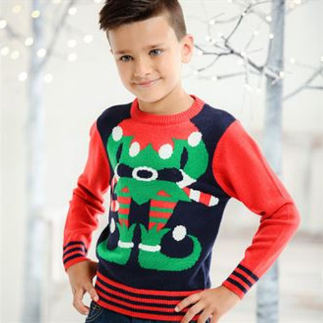 Kids elf jumper